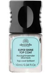 Alessandro Professional Manicure Super Shine Top Coat Nagelüberlack 10 ml