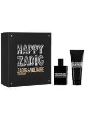 ZADIG & VOLTAIRE - Zadig & Voltaire Herrendüfte This Is Him! Geschenkset Eau de Toilette Spray 50 ml + All Over Shower Gel 100 ml 1 Stk. - PARFUM