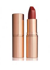 CHARLOTTE TILBURY - Charlotte Tilbury - Matte Revolution Lipstick – Walk Of Shame – Lippenstift - Burgunder - one size - LIPPENSTIFT
