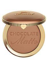 Chocolate Soleil Matte Bronzer - TOO FACED