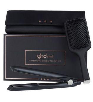 GHD - Gold with Paddle Brush, Box & Heat-Resistant Bag - HAARBÜRSTEN, KÄMME & SCHEREN