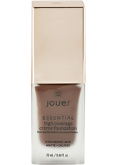 JOUER COSMETICS - Essential High Coverage Creme Foundation - Truffle - FOUNDATION