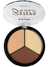 NYX Professional Makeup 3 Steps to Sculpt  Make-up Palette 15 g Nr. 03 - Medium