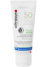 UltraSun Face Mineral SPF 50 40 ml Sonnencreme