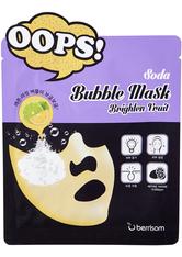 Berrisom Soda Bubble Sheet Mask Brighten Fruit 18ml