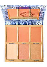 Glowing in Greece - 6 Farben Blush & Highlighter Palette
