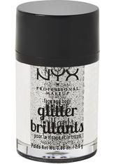NYX Professional Makeup Glitter Brilliants Face & Body Glitzer 2.5 g Nr. 10 - Silver