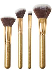 LUXIE - Luminous Face Set Gold Glitter - MAKEUP PINSEL