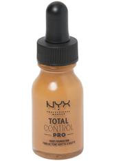 NYX Professional Makeup Total Control Pro Drop Controllable Coverage Foundation 13ml (Various Shades) - Golden