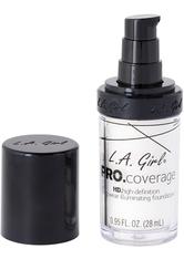L.A. Girl - Foundation - Pro Coverage Liquid Foundation - GLM 641 - White