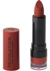 Revolution - Lippenstift - Matte Lipstick - Piece of Cake 101