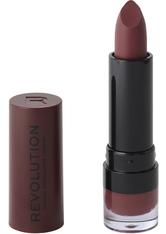 MAKEUP REVOLUTION - Matte Lipstick Rosé 118 - LIPPENSTIFT