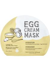 TOO COOL FOR SCHOOL Masken EGG CREAM MASK HYDRATION 28 g
