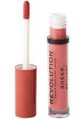 Revolution - Flüssiger Lippenstift - Sheer Lip - RBF 107