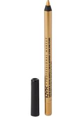 NYX PROFESSIONAL MAKEUP - NYX Professional Makeup Slide On Pencil  Eyeliner  1.2 g Nr. 18 - Glitzy Gold - KAJAL
