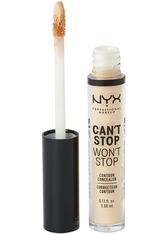 NYX Professional Makeup Can't Stop Won't Stop Contour Concealer (Various Shades) - Vanilla