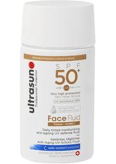 UltraSun Face Fluid Tinted Honey SPF 50+ 40 ml Gesichtsfluid