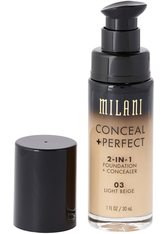 MILANI - Conceal And Perfect 2 In 1 Foundation And Concealer  Light Beige - FOUNDATION