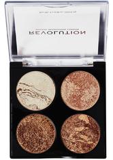 MAKEUP REVOLUTION - Revolution - Makeuppalette - Cheek Kit Don t Hold Back - Highlighter