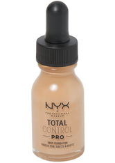 NYX Professional Makeup Total Control Pro Drop Controllable Coverage Foundation 13ml (Various Shades) - Medium Olive