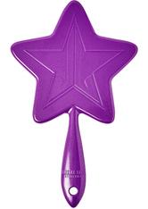 Purple Glitter Hand Mirror