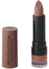 Revolution - Flüssiger Lippenstift - Matte Lip - Chauffeur 110