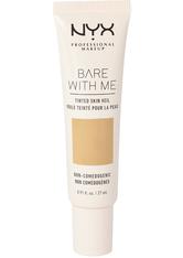 NYX Professional Makeup Bare With Me Tinted Skin Veil Flüssige Foundation  27 ml NR. 05 - BEIGE CARAMEL