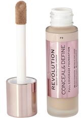 Makeup Revolution - Foundation - Conceal & Define Foundation F9