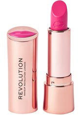 MAKEUP REVOLUTION - Satin Kiss Lipstick Cutie - Lippenstift