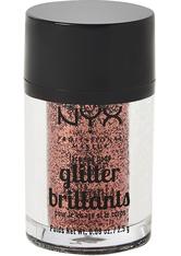 NYX Professional Makeup Glitter Brilliants Face & Body Glitzer 2.5 g Nr. 04 - Copper