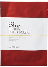 Missha Masken Bee Pollen Renew Sheet Mask Maske 25.0 ml