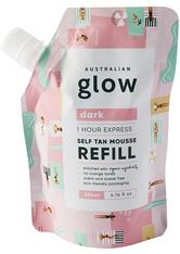 AUSTRALIAN GLOW - One Hour Express Self Tanning Mousse Refill Dark - SELBSTBRÄUNER