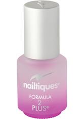 NAILTIQUES - Nailtiques Nail Protein Formula 2 Plus (7 ml) - BASE & TOP COAT
