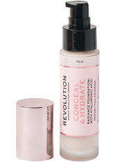 Revolution - Foundation - Conceal & Hydrate Foundation - F0.5