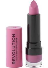 Makeup Revolution Matte Lipstick Cherry 132