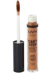 NYX Professional Makeup Can't Stop Won't Stop Contour Concealer (Various Shades) - Warm Caramel