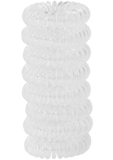8 Pack Hair Coils Transparent