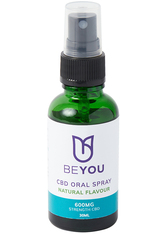 BEYOU - CBD Oral Spray with MCT Oil 600 MG  Natural - GESICHTSÖL