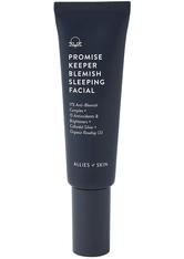 ALLIES OF SKIN - Allies of Skin Pflege Allies of Skin Pflege Promise Keeper Blemish Sleeping Facial Gesichtswasser 50.0 ml - Nachtpflege