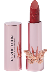 MAKEUP REVOLUTION - Precious Glamour Butterfly Lipstick So Hollywood - Lippenstift