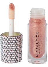 MAKEUP REVOLUTION - Precious Glamour Bling Bomb Lip Gloss Luxuriant Starlight - Lipgloss