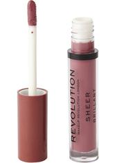 MAKEUP REVOLUTION - Makeup Revolution Sheer Lip White Wedding 114 - LIPGLOSS