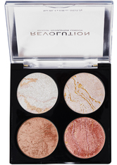 MAKEUP REVOLUTION - Revolution - Makeuppalette - Cheek Kit Take A Breather - HIGHLIGHTER