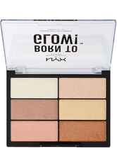 NYX PROFESSIONAL MAKEUP - NYX Professional Makeup Born to Glow!  Make-up Palette  5.4 g NO_COLOR - Highlighter