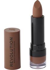 MAKEUP REVOLUTION - Matte Lipstick Vow 120 - LIPPENSTIFT