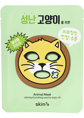 SKIN79 - Calming And Soothing Care For Angry Cat Animal Mask - CREMEMASKEN