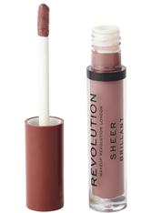 MAKEUP REVOLUTION - Makeup Revolution Sheer Lip Ballerina 112 - LIPGLOSS