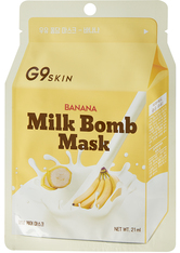 G9SKIN - G9SKIN Milk Bomb Mask - Banana 21 ml - CREMEMASKEN
