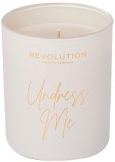 MAKEUP REVOLUTION - Undress Me Scented Candle - Duftkerzen
