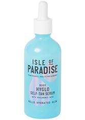 Isle of Paradise HYGLO Hyaluronic Self-Tan Serum for Body 100ml